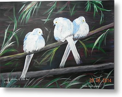 Friendship Metal Print by Usha Rai