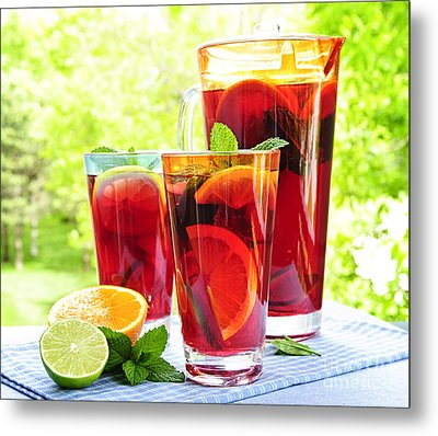 Fruit Punch  Metal Print by Elena Elisseeva
