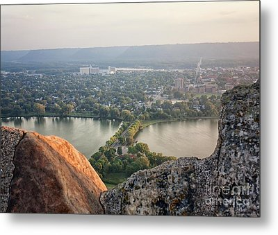 Metal Print featuring the photograph Garvin Heights View by Kari Yearous