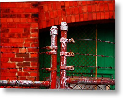 Metal Print featuring the photograph Gate by Rowana Ray