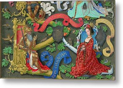 Genealogy Of Kings Of Navarre Metal Print