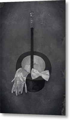 Gentleman Metal Print by Joana Kruse