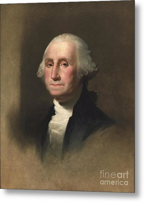George Washington Metal Print by Rembrandt Peale