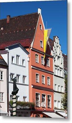 Germany, Bavaria, Fussen Metal Print by Walter Bibikow