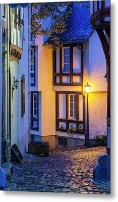 Germany, Hesse, Limburg An Der Lahn Metal Print by Walter Bibikow