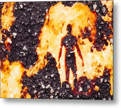 Metal Print featuring the photograph Ghost Man by Randy Sylvia