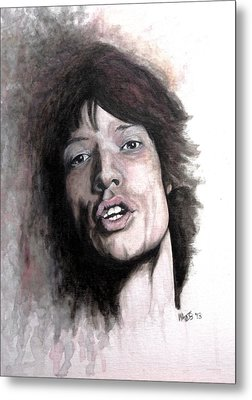 Gimme Shelter Metal Print by William Walts