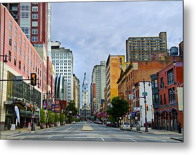Give My Regards To Broad Street Metal Print by Bill Cannon