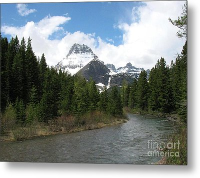 Glacier National Park Metal Print by Russell Christie