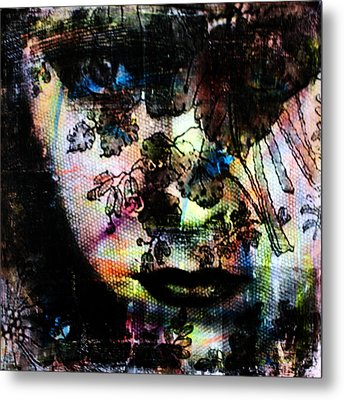 Gloria Swanson Metal Print by Penelope Stephensen