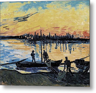 Gogh, Vincent Van 1853-1890. The Metal Print by Everett
