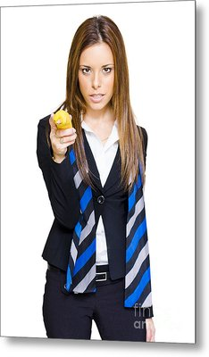 Going Bananas Over Business Metal Print by Jorgo Photography - Wall Art Gallery