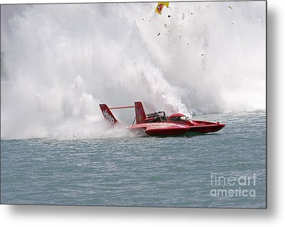 Metal Print featuring the photograph Gold Cup Hydroplane Races by Jim West