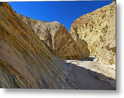 Metal Print featuring the photograph Golden Canyon - Death Valley by Dana Sohr