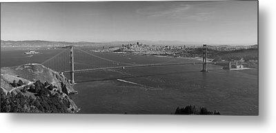 Golden Gate Bridge Metal Print by Twenty Two North Photography