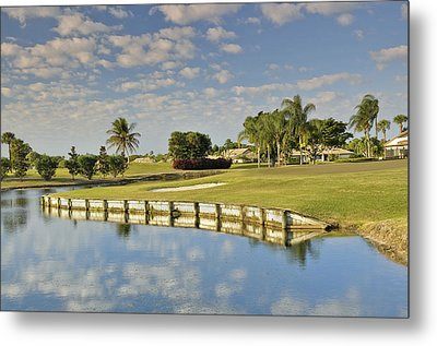 Golf Course Metal Print by M Cohen