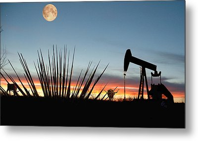 Goodnight Odessa Metal Print by GCannon
