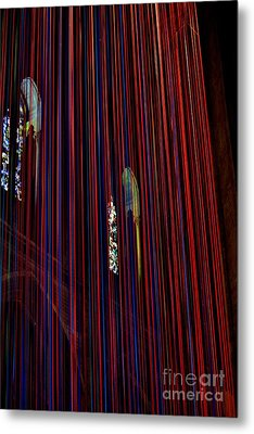 Grace Cathedral With Ribbons Metal Print by Dean Ferreira