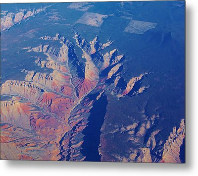 Grand Canyon 4 Metal Print by Larry Campbell