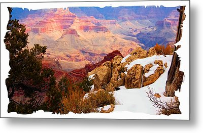 Grand Canyon Arizona Metal Print by Bob Pardue