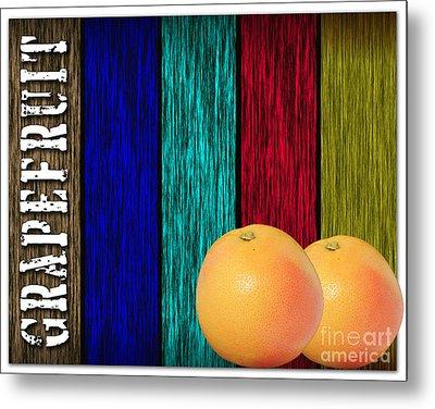 Grapefruit Metal Print by Marvin Blaine