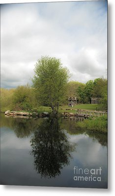 Grays Mill Pond Metal Print