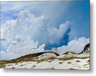 Grayton Beach Metal Print