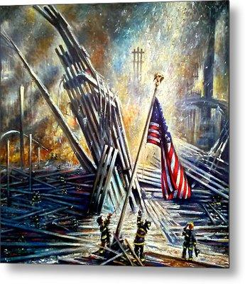 Ground Zero 911  Metal Print