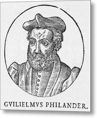 Guillaume Philandrier, French Humanist Metal Print by Middle Temple Library