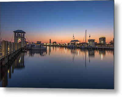 Gulfport Harbor Metal Print by Brian Wright