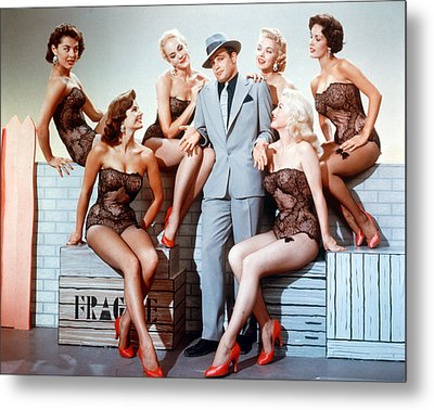 Guys And Dolls  Metal Print by Silver Screen