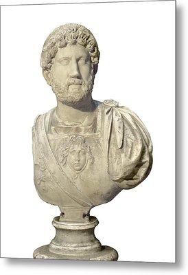 Hadrian 76-138. Roman Emperor 117-138 Metal Print