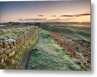 Hadrian's Wall Metal Print by Rod McLean