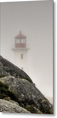 Halifax Fog Metal Print by Jennifer Wheatley Wolf