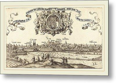 Hans Sebald Lautensack German, 1524-1561-1566 Metal Print by Litz Collection