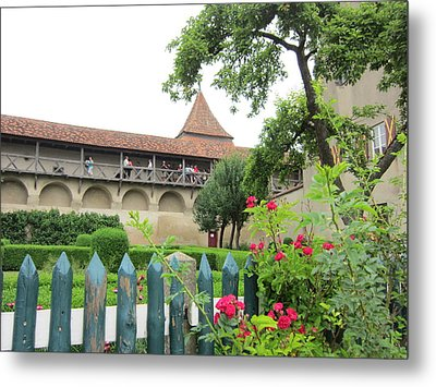 Harburg Castle Metal Print