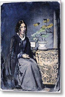 Harriet Beecher Stowe (1811-1896) Metal Print