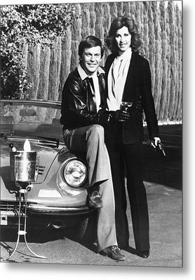 Hart To Hart  Metal Print by Silver Screen