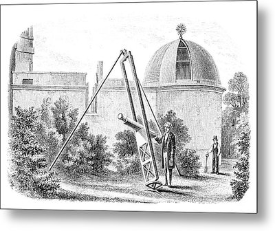 Hartwell Observatory Metal Print by Royal Astronomical Society