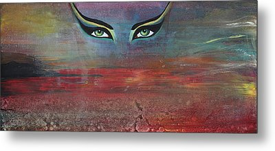 Hathor Metal Print by Stacey Austin