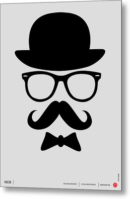Hats Glasses And Mustache Poster 2 Metal Print