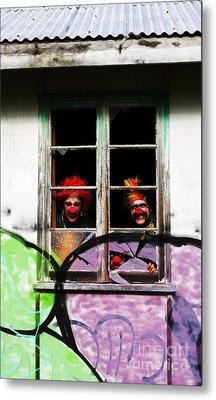 Haunted House Of Horrors Metal Print