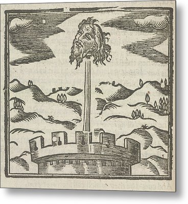 Head Of Guy Fawkes Metal Print by British Library