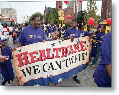 Healthcare Reform Campaign Metal Print