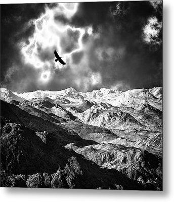 Heaven's Breath 15 Metal Print by The Art of Marsha Charlebois