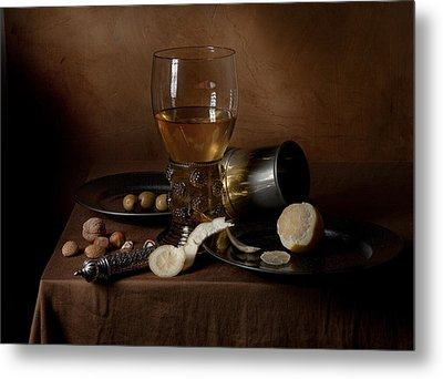 Metal Print featuring the photograph Heda - Still Life 1632 by Levin Rodriguez