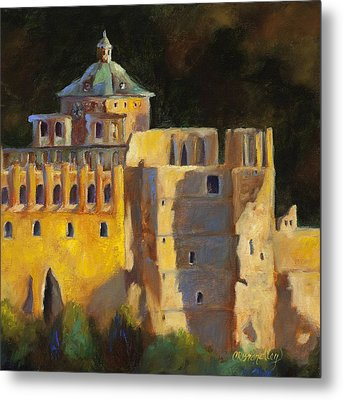 Heidelberg Schloss Metal Print by Chris Brandley