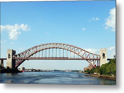 Hell Gate Bridge Metal Print