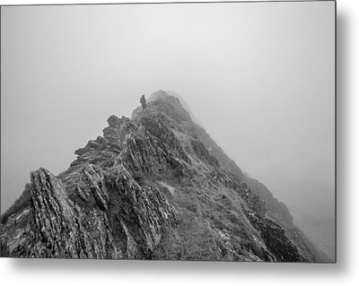 Helvellyn Metal Print by Mike Taylor