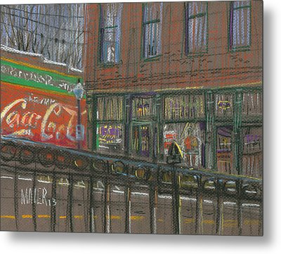 Henry's Metal Print by Donald Maier